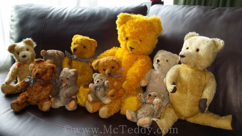 McTeddy started his own website and here are some of his friends.